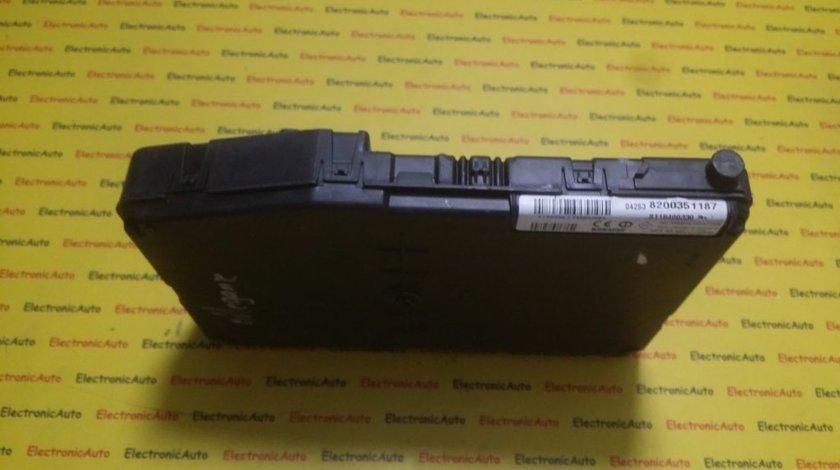 Imobilizator Renault Scenic 8200351187, S118400330C