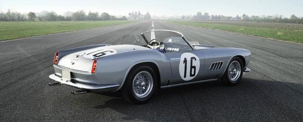 In 1959 a fost pe podium la Le Mans, iar acum s-a vandut pentru 18 milioane de dolari. Despre ce Ferrari este vorba