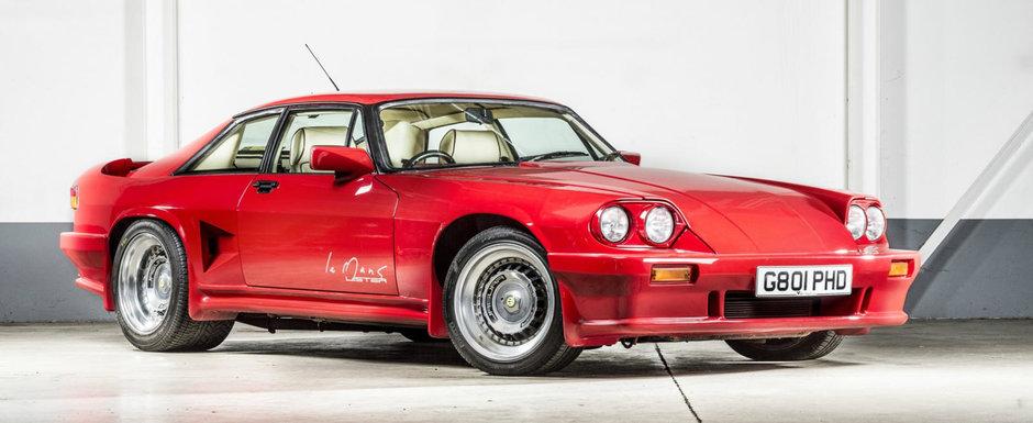 In 1989 avea 600 CP si atingea 320 km/h. Astazi, acest Jaguar cu motor V12 se vinde pentru o nimica toata