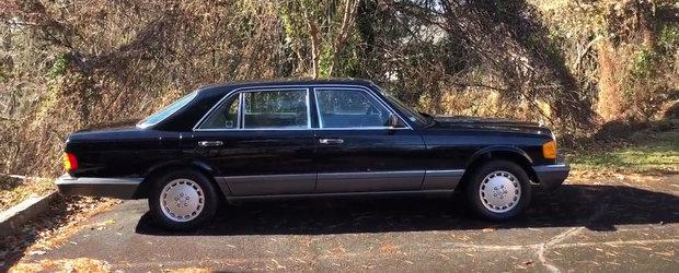 In 1991 costa 77.000$ si era cel mai luxos Mercedes. Cum arata astazi modelul 560SEL cu doua claxoane
