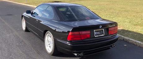 In 1995 avea 375 CP si costa 105.000 dolari. Cum arata astazi BMW 850CSi, bavarezul cu motor V12 si cutie manuala