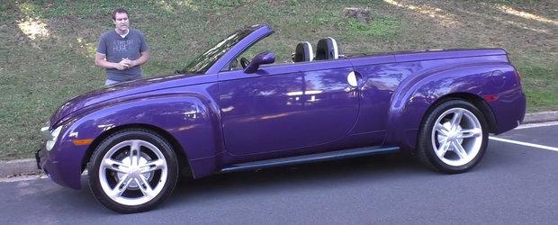 In 2004 avea 300 CP si costa 41.000$. Cum arata astazi singura decapotabila din lume cu motor V8 si... bena