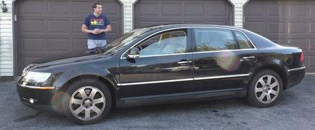 In 2004 avea 420 CP si costa 95.000$. Cum arata astazi limuzina W12 de la VW care a vrut sa concureze cu Mercedes S-Class
