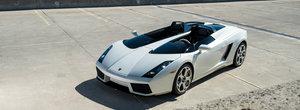 In 2006, Lamborghini a construit un Gallardo fara plafon. Unicul exemplar functional este acum de vanzare