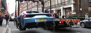 In Anglia, politia nu se joaca! A confiscat un Ferrari pentru ca nu avea asigurare!