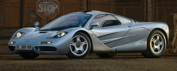 In anii '90 era cea mai rapida masina de pe sosea. Cu cat se vinde azi un McLaren cu 3.500 de km la bord