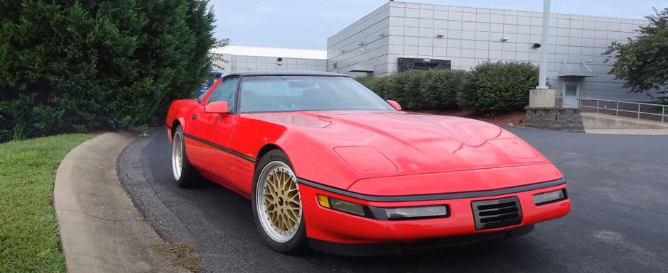 In anii '90, GM a pus un V12 de 9.8 litri pe Corvette ca sa le faca in ciuda rivalilor. VIDEO cu unicul exemplar