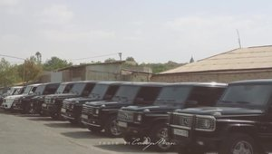 In Armenia, se pare ca masina nationala este Mercedes-Benz G Class!