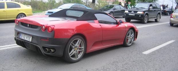 In Bucuresti sunt inmatriculate 29 Lamborghini, 102 Ferrari si peste 1100 de Porsche