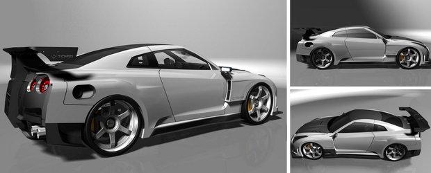 In cautarea extremului: Body kit de 70.000 dolari pentru Nissan GT-R!