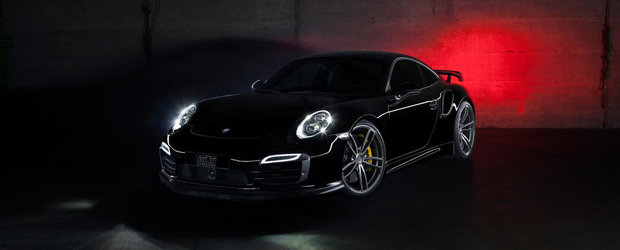 In cautarea perfectiunii: TechArt modifica noul Porsche 911 Turbo