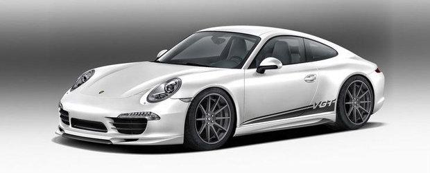 In cautarea perfectiunii: Vorsteiner modifica noul Porsche 911