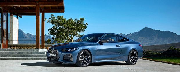In curand ii vei vedea grila verticala si pe strazile din Romania. Cat costa noul BMW Seria 4
