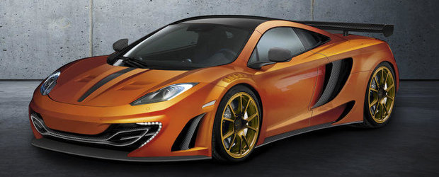 In curand, in Geneva: McLaren MP4-12C by Mansory