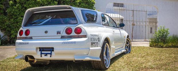 In loc sa fie un GT cu doua usi, acest Nissan GT-R este...break. Masina inedita are 1000 CP
