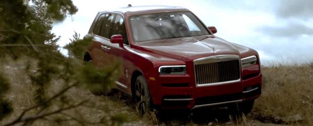 In off-road cu cel mai scump SUV de serie din lume. Cum se descurca noul Rolls-Royce Cullinan