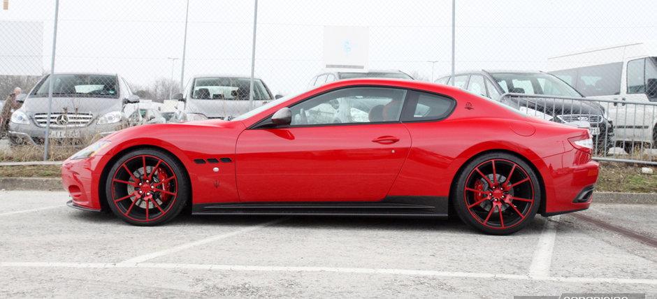 In parcare la Geneva: Maserati GranTurismo S by Mansory