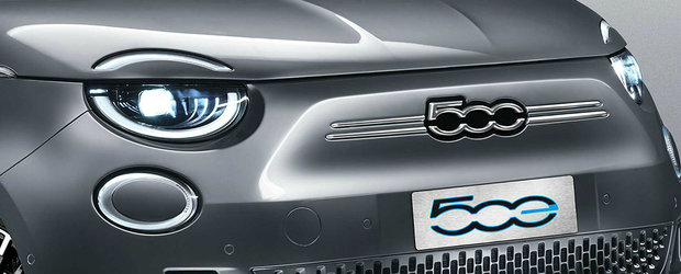 In pas cu vremurile. Fiat 500 primeste, in premiera, o versiune cu zero emisii