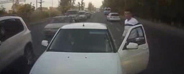 In Rusia sunt bizoni in trafic mai ceva ca in Romania