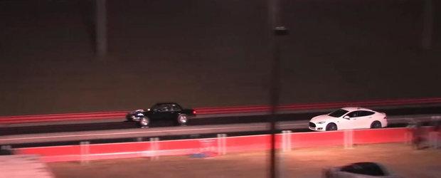 In sfarsit, o cursa in care pierde si Tesla P85D!
