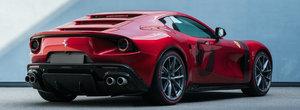 In urma cu doi ani i-a platit pe cei de la Ferrari sa-i faca o masina numai pentru el. Acum este gata