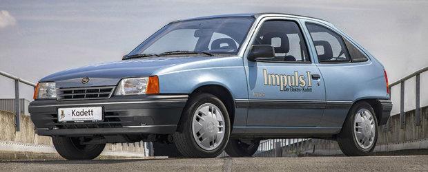 In urma cu fix 30 de ani, Opel lansa un Kadett electric cu autonomie de 80 de kilometri