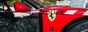 In urma cu o saptamana ardea pe o strada din Monaco. POZE cu ce a mai ramas din super masina italiana