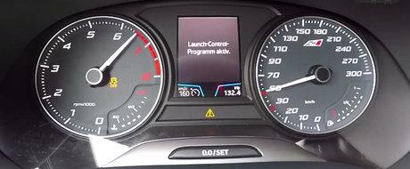 In versiunea 4x4 atinge mult mai repede suta. Test de acceleratie cu SEAT Leon Cupra 300 4Drive