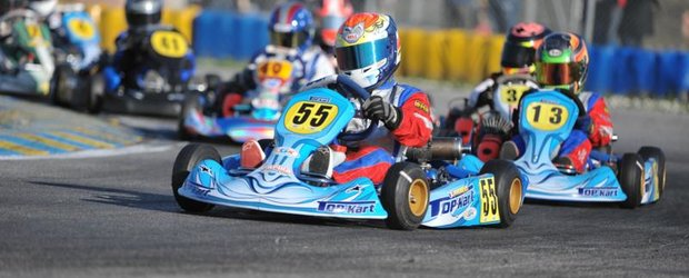In week-end-ul 2-3 Aprilie, pilotii romani, au asaltat pistele internationale de karting