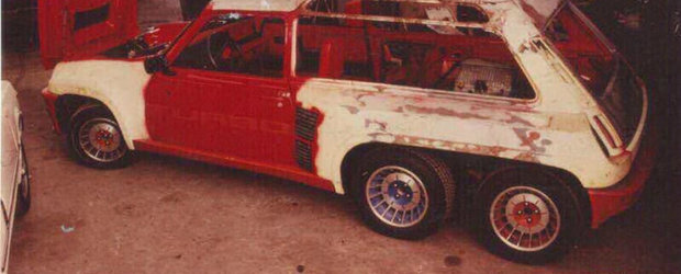 Inainte de Mercedes G63 6x6, toata lumea vorbea despre... Renault 5 6x6!