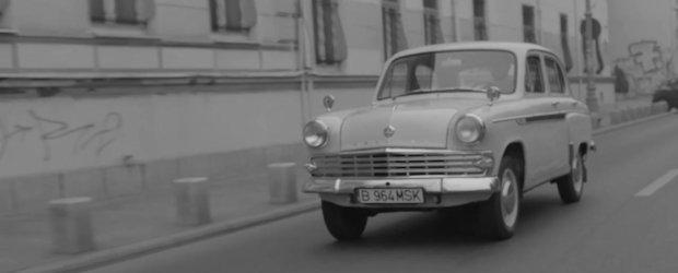 Inapoi in blocul comunist: la plimbare cu Moskvich prin centrul Bucurestiului