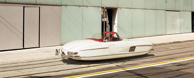 Inapoi in viitor: Automobile clasice, de legenda, care... leviteaza