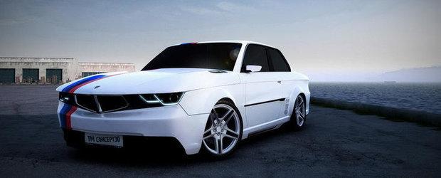 Inapoi in viitor: Tuning futuristic pentru clasicul BMW E30