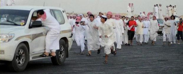 Inca o dovada ca arabii sunt nebuni de legat. VIDEO AICI!!!