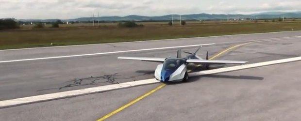 Inca o masina care zboara s-a lansat: este din Slovacia