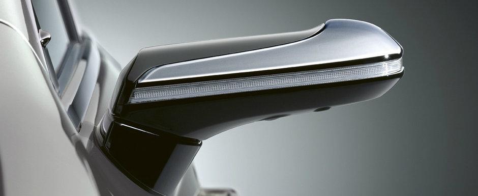 Inca o masina renunta la oglinzile laterale pentru camere video. Se vinde in EUROPA si concureaza cu Seria 5 si E-Class