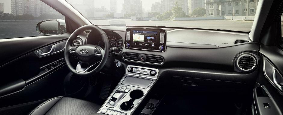 Inca o palma data nemtilor. Noua masina de la Hyundai este complet electrica si ofera o autonomie de 470 km