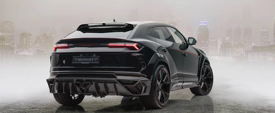 Inca un Lamborghini Urus ajunge la Mansory si devine VENATUS. Cati CP are acum super SUV-ul