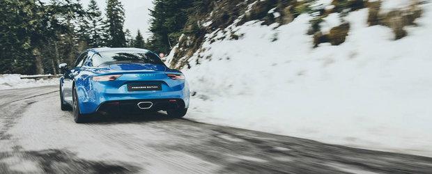 Inca un mister rezolvat: Cum arata din spate noul Alpine A110