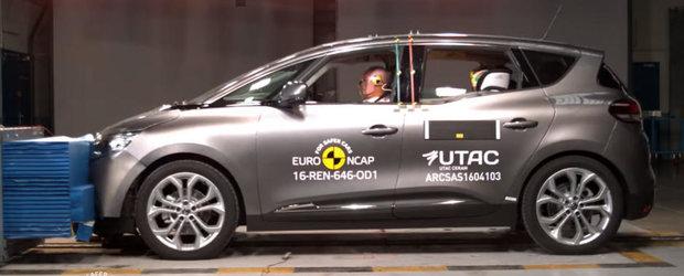 Inca un motiv pentru care merita sa iti cumperi noul Renault Scenic. Uite cum s-a descurcat la testele EuroNCAP