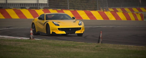 Inca un test-drive marca Chris Harris. Uite ce face britanicul cu Ferrari-ul F12 tdf