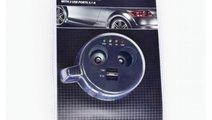 Incarcator Auto Mega Drive Forma Pahar 2/2 Porturi...