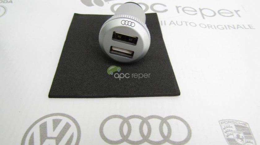 Incarcator bricheta USB - Dublu Original Audi