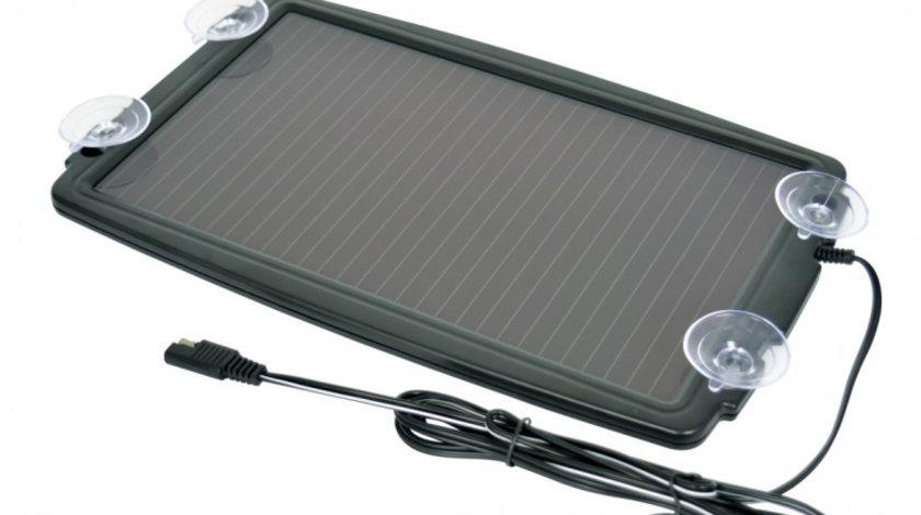Incarcator solar pentru baterie auto 12V, 138mA, Carpoint