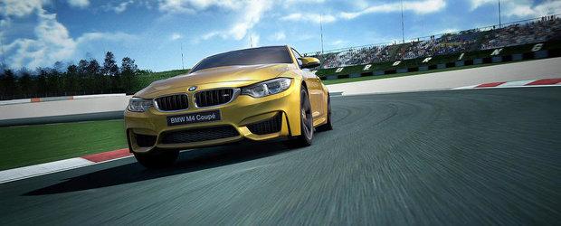 Incearca pe propria piele noul BMW M4 Coupe!