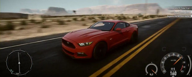 Incearca pe propria piele noul Ford Mustang GT!