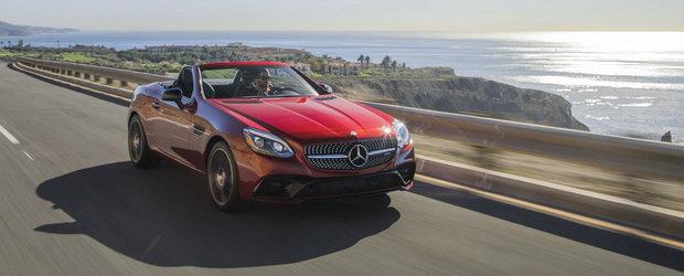 Incepe razboiul decapotabilelor premium. Intariri pentru SLC ca sa nu fie mancat pe paine de noul BMW Z4