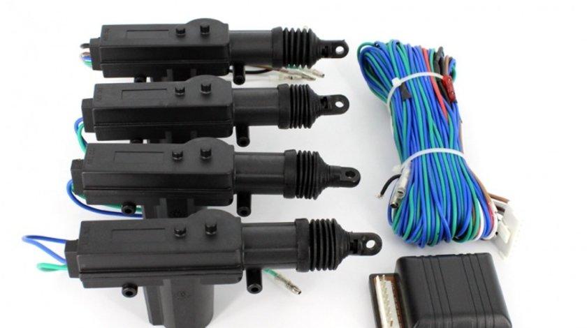 Inchidere centralizata manuala din cheie Carguard cu 4 actuatori si modul comanda Kft Auto