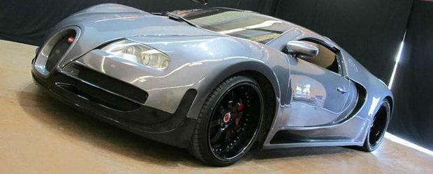 Incredibil, dar adevarat. Un american a platit 60.000 de dolari pe replica unui Bugatti Veyron