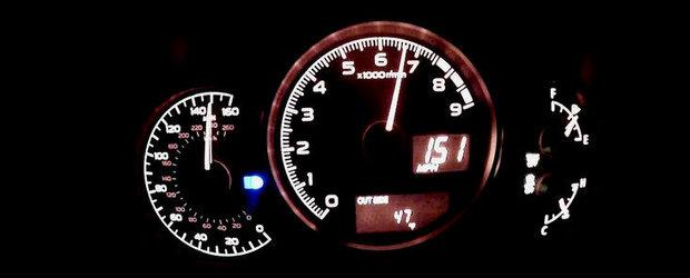 Incursiune pana la 243 km/h la bordul noului Subaru BRZ